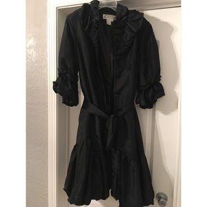 Dresses & Skirts - Black button up dress